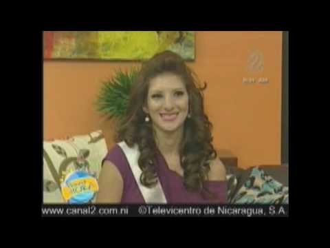 Perfil Alma Huerta Candidata a Miss Nicaragua 2012