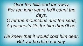 Sonata Arctica - Over The Hills And Far Away (Nightwish Cover) Lyrics