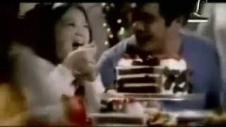 Barbie's Red Ribbon Xmas commercial