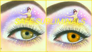 Get Golden / Amber Eyes Subliminal- RAREST Eye color in humans