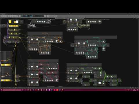 Generative-20-10-2019 - Techstep Drum and Bass - Bitwig Studio #Gridnik