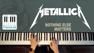 Nothing Else Matters piano