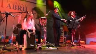 Angie Santana  Laura Márquez  José Carlos Campos VIII Feria de abril Las Palmas de Gran Canaria