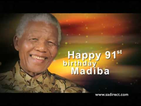 Happpy 91st  Birthday Madiba!