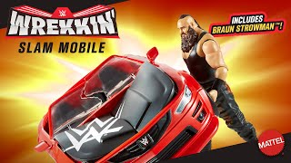 Mattel's WWE Wrekkin' Slam Mobile with Braun Strowman available now