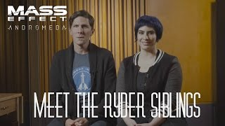Mass Effect: Andromeda - The Voices of Scott and Sara Ryder