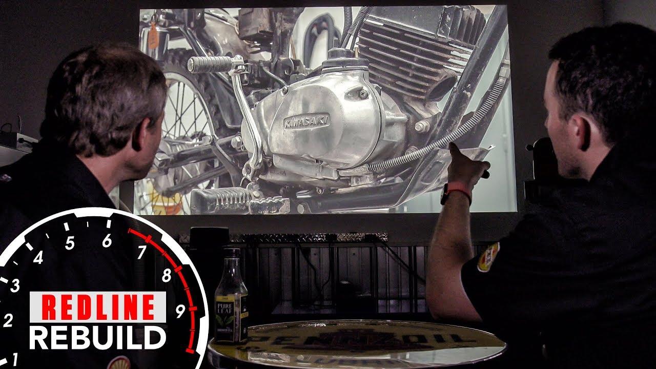 Redline Rebuilds Explained: How we rebuilt a vintage Kawasaki KE100 motorcycle