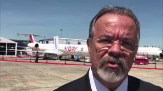 Jungmann reforça presença brasileira na maior feira internacional de aeronáutica