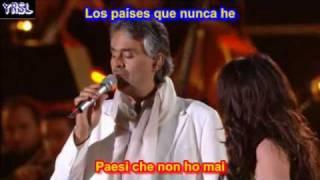 Time To Say Goodbye ( SUBTITULADO EN ESPAÑOL LYRICS )  Bocelli - Brightman