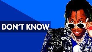 """DON'T KNOW"" Trap Beat Instrumental 2018 | Lit Hard Rap Hiphop Freestyle Trap Type Beats | Free DL"