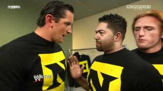 HD WWE RAW 10/11/2010 Nexus Backstage - Planning how to hurt Randy Orton