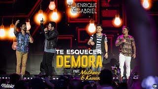 Zé Henrique & Gabriel (Part. Matheus & Kauan) - Te Esquecer Demora - DVD Histórico