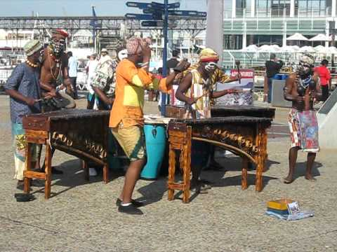 African music and dance in Cape Town, South Africa