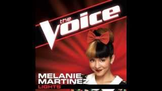 "Melanie Martinez: ""Lights"" - The Voice (Studio Version)"