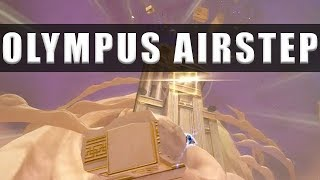 Kingdom Hearts 3 how to airstep up to the top of Mount Olympus