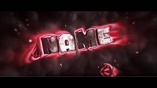 DOPE RED 3D INTRO TEMPLATE FOR C4D AND AE  | By ZeykaFX
