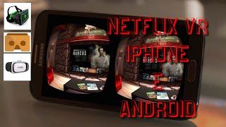 Melhor App para Reproduzir Netflix no seu VR Cardboard etc