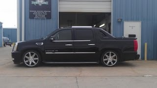 Reklez Pearland, 4/6 Escalade AWD Drop Kit Installation, Dropped NNBS EXT.