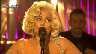 Tu cara me suena - Silvia Pantoja imita a Marilyn Monroe