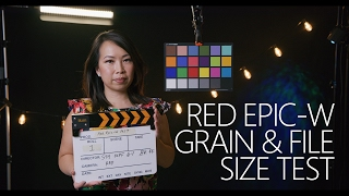 RED EPIC-W 8K REDCODE Compression Grain & File Size Test