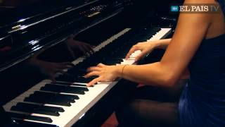 Yuja Wang plays Rachmaninoff Moment Musical No. 4 e-minor