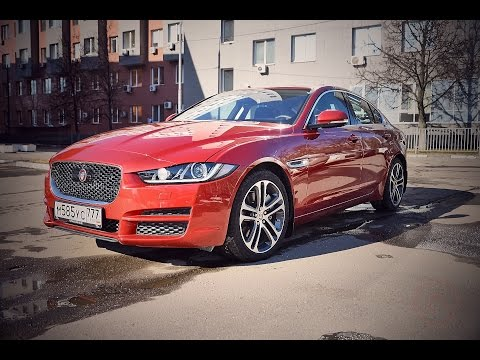 Jaguar XE - тест драйв Сергея Асланяна