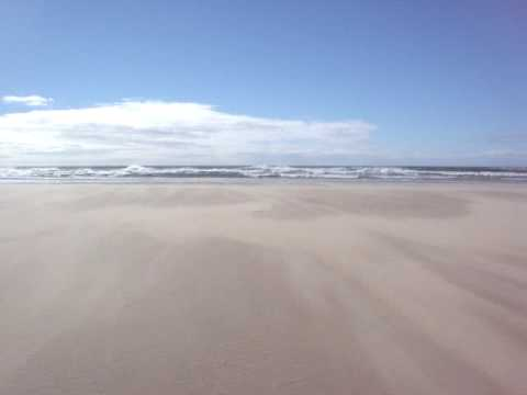 sand blowing on Cintsa Beach
