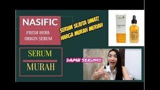 REVIEW JUJUR Fresh Herb Origin Serum, Beneran Bagus Ga