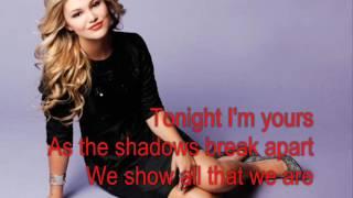 Olivia Holt - In the Dark (Lyrics)