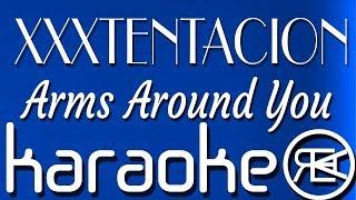 XXXTENTACION & Lil Pump - Arms Around You | Karaoke Lyrics Instrumental (ft. Maluma & Swae Lee)