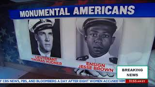 Monumental Americans: Lt. Thomas Hudner & Ensign Jesse Brown