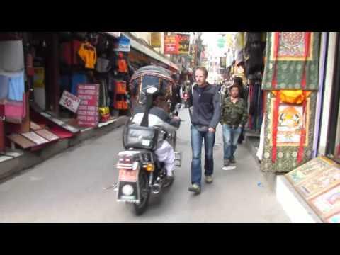 Narrow streets of Kathmandu