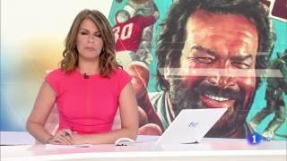 Muere BUD SPENCER - Telediario La 1 de TVE (2016)