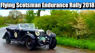 Flying Scotsman Rally 2018 - Approaching Woodhall Spa Checkpoint 27 April