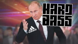 Putin dance on Hardbass Adidas