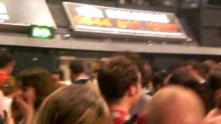 Kasabian - Wembley Arena 15/11/2009 - Crowd Surfer