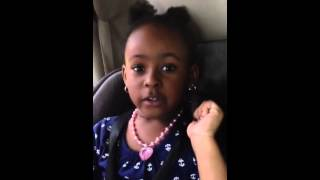 John Legend's remix version by a 3 year old