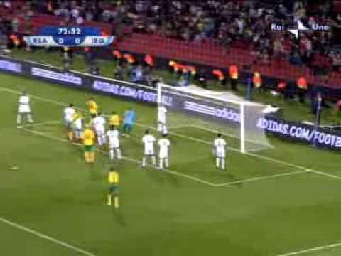 Sud Africa – Iraq 0-0 del 14.06.09 Confederations Cup