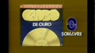 """Comercial do LP """"A super parada do Globo De Ouro"""""""