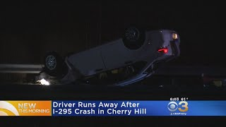 Police: Driver Takes Off After Crash On I-295 In Cherry Hill