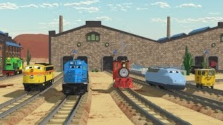 The Number Adventure at the Train Factory with Shawn and Team! - Full Cartoon width=