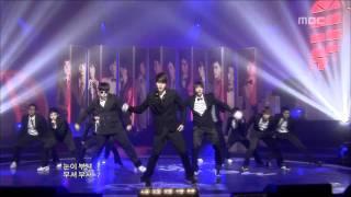 Super Junior - Sorry Sorry, 슈퍼주니어 - 쏘리 쏘리, Music Core 20090411