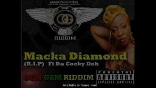 Macka Diamond - R.I.P (Raw) 18+ (ANGUK Official Promo Video) Gem Gem Riddim