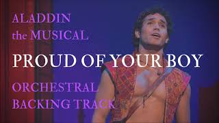 Proud Of Your Boy - Orchestral Backing Track (from Aladdin)
