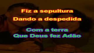 João Roberto e Robertinho - Amarga Despedida - karaoke