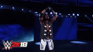 Entrada de AJ Styles en WWE 2K18