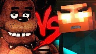 Herobrine VS. Freddy Fazbear | Batalha de Mestres [Part. NikkiStorm]