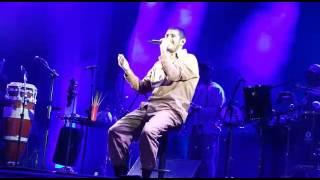 Criolo canta 'Menino mimado', durante show em BH