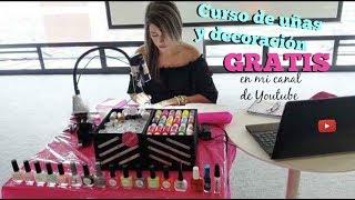 Curso de uñas y decoración GRATIS ♥ Deko Uñas
