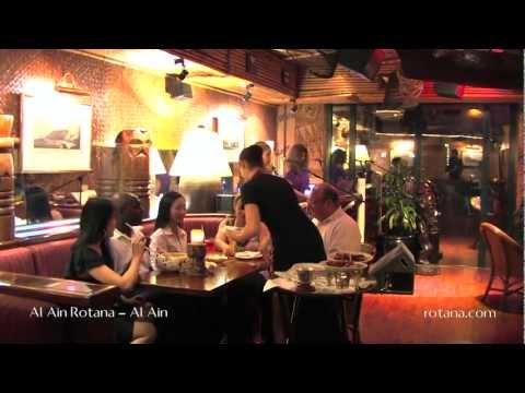 Restaurants @ Al Ain Rotana in Al Ain, Abu Dhabi, United Arab Emirates